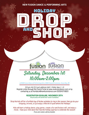 Fusion Foundation Holiday Drop & Shop