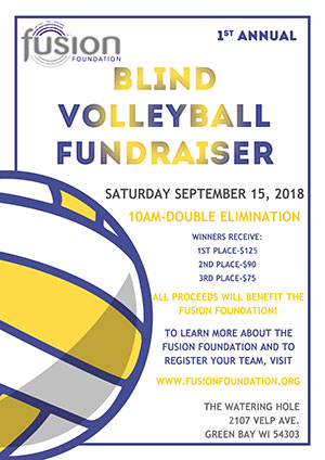 Fusion Foundation Blind Volleyball 2018